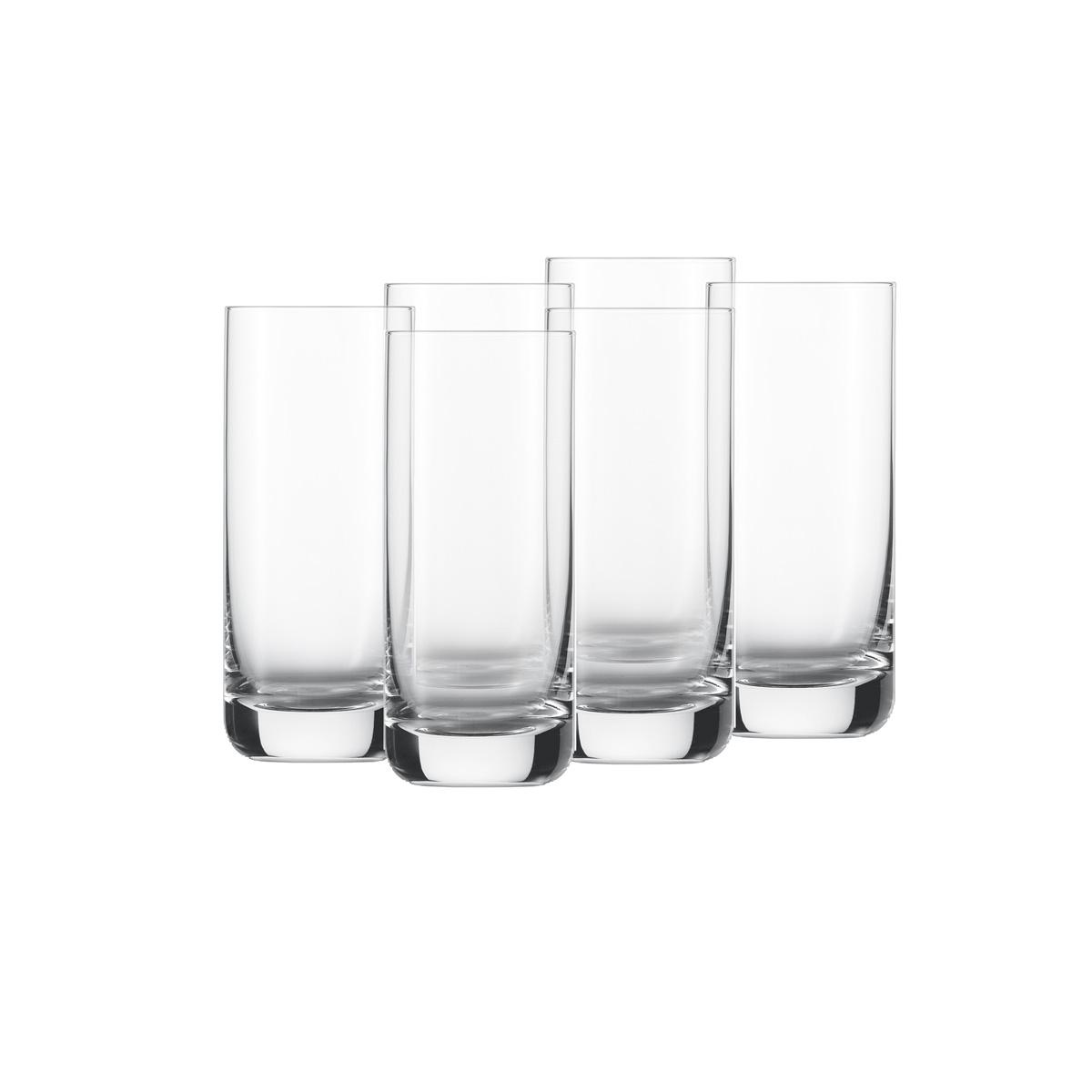 Онлайн каталог PROMENU: Набор стаканов Schott Zwiesel CONVENTION, объем 0,37 л, прозрачный, 6 штук Schott Zwiesel 118360