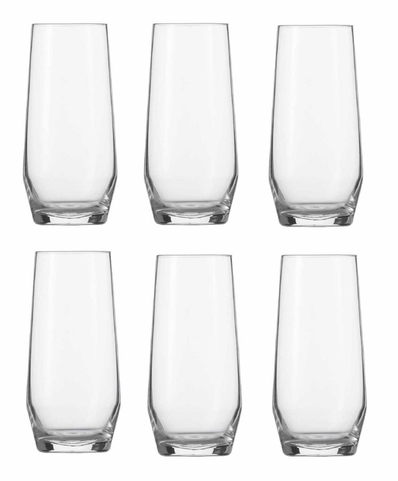 Онлайн каталог PROMENU: Набор стаканов Schott Zwiesel PURE, объем 0,357 л, прозрачный, 6 штук Schott Zwiesel 113771_6шт