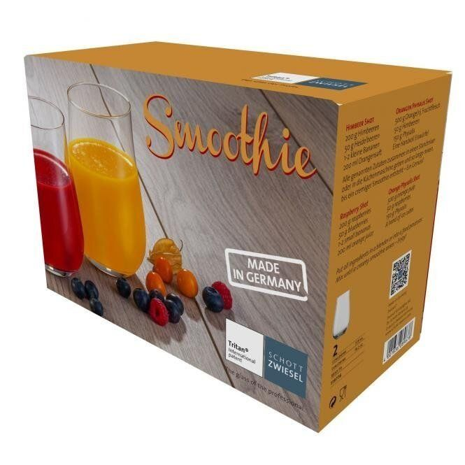 Набор стаканов Schott Zwiesel Smoothie, объем 0,54 л, прозрачный, 2 штуки Schott Zwiesel 119776 фото 3