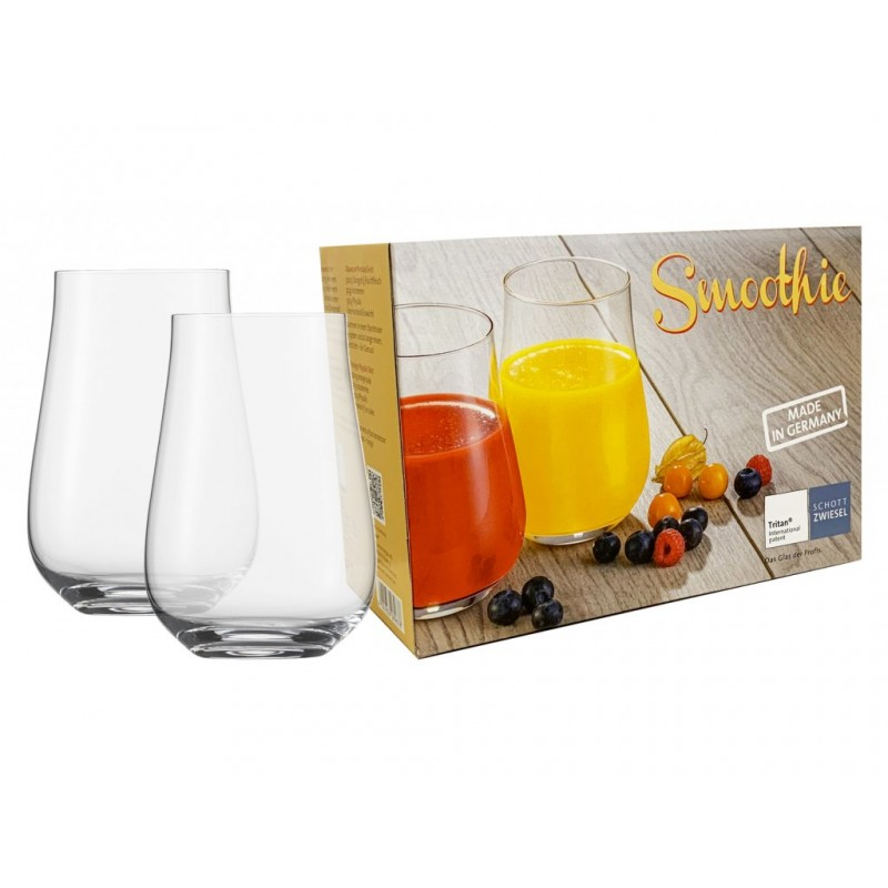 Набор стаканов Schott Zwiesel Smoothie, объем 0,54 л, прозрачный, 2 штуки Schott Zwiesel 119776 фото 2