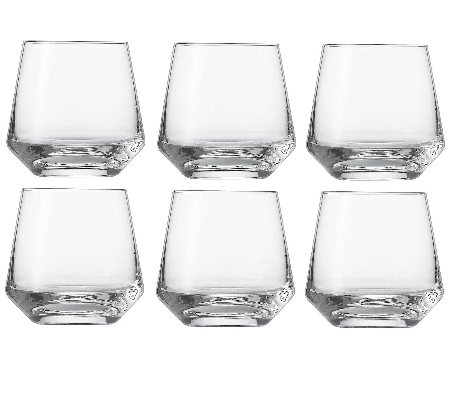 Набор стаканов для виски Schott Zwiesel PURE, объем 0,306 л, прозрачный, 6 штук Schott Zwiesel 112844_6шт фото 0