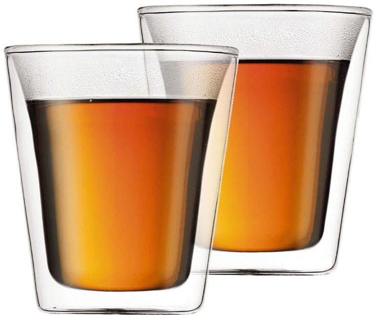 Онлайн каталог PROMENU: Набор стаканов с двойными стенками Bodum, 0,2 л, 2 шт. Bodum 10109-10