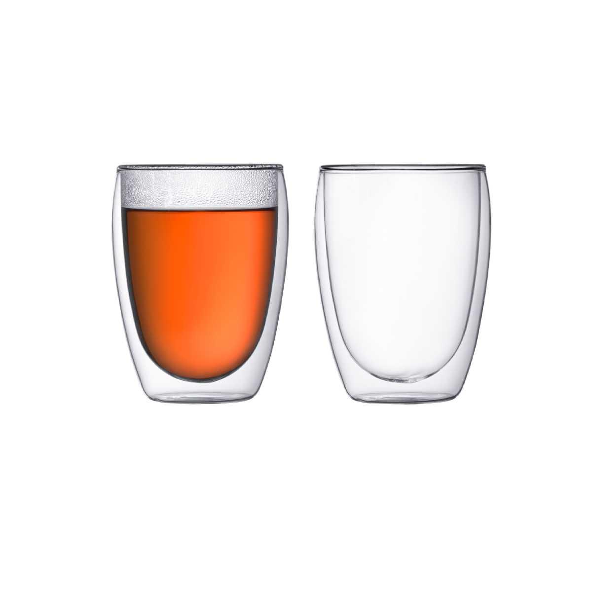 Набор стаканов с двойными стенками 0,35 л, 2 шт Bodum Pavina  (4559-10) Bodum 4559-10 фото 0