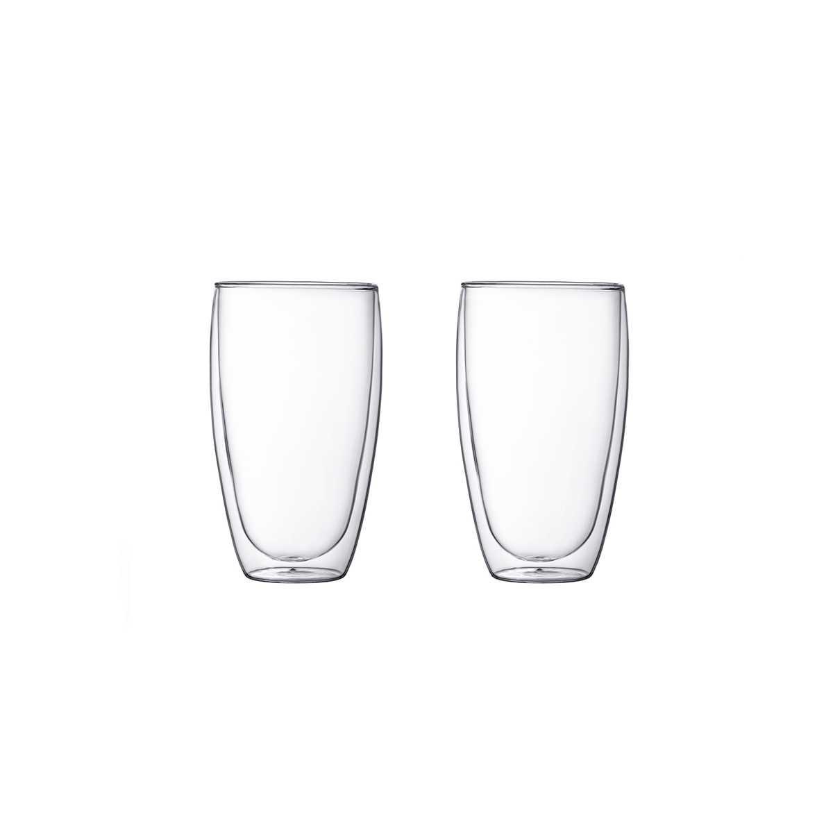 Онлайн каталог PROMENU: Набор стаканов с двойными стенками 0,45 л, 2 шт Bodum Pavina  (4560-10) Bodum 4560-10
