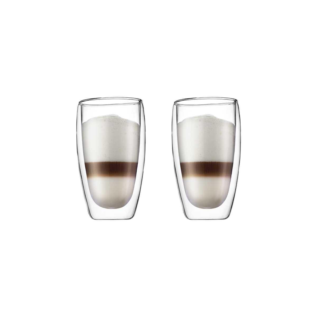 Набор стаканов с двойными стенками 0,45 л, 2 шт Bodum Pavina  (4560-10) Bodum 4560-10 фото 1