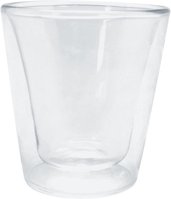 Набор стаканов с двойными стенками Nerthus  DOUBLE WALL CUPSET , 2 шт, объем 0,1 л, прозрачный Nerthus FIH 290 фото 0