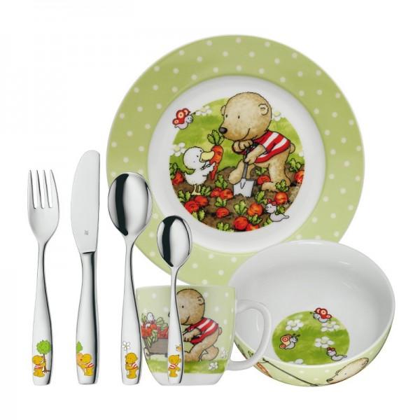 Онлайн каталог PROMENU: Набор столовый детский WMF, 7 предметов WMF 12 9630 9984