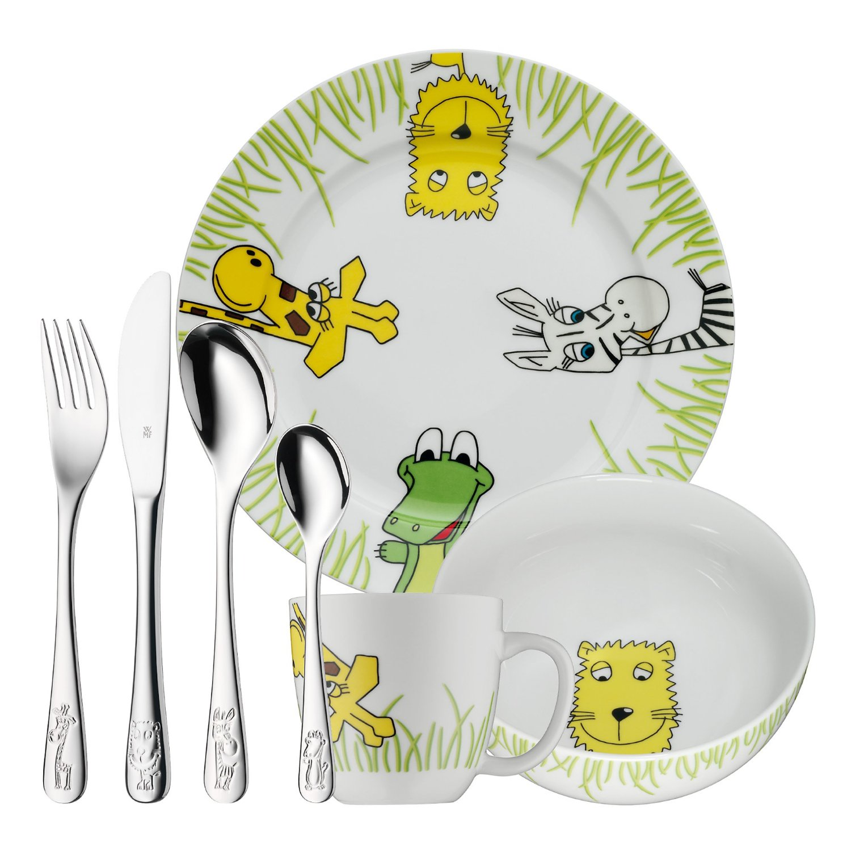 Онлайн каталог PROMENU: Набор столовый детский WMF Safari, 7 предметов WMF 12 8002 9984