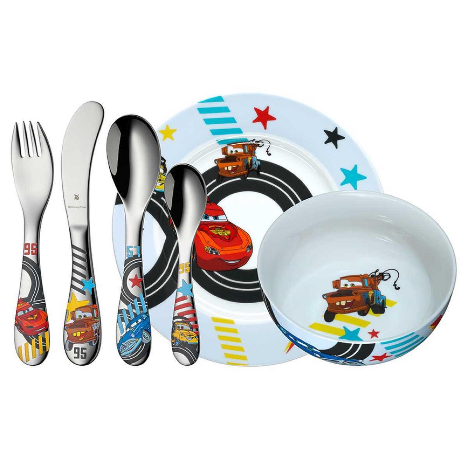 Онлайн каталог PROMENU: Набор столовый детский, 6 пр WMF Cars  (12 8601 9964) WMF 12 8601 9964