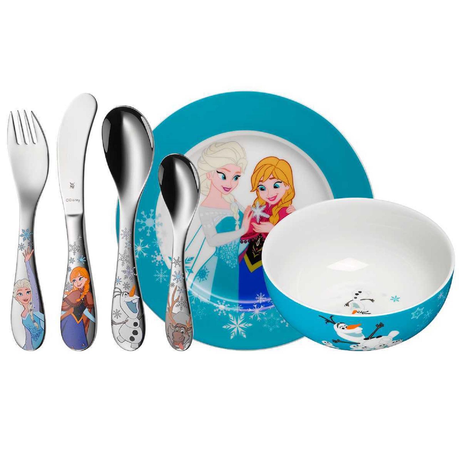Онлайн каталог PROMENU: Набор столовый детский, 6 пр WMF Frozen  (12 8600 9964) WMF 12 8600 9964