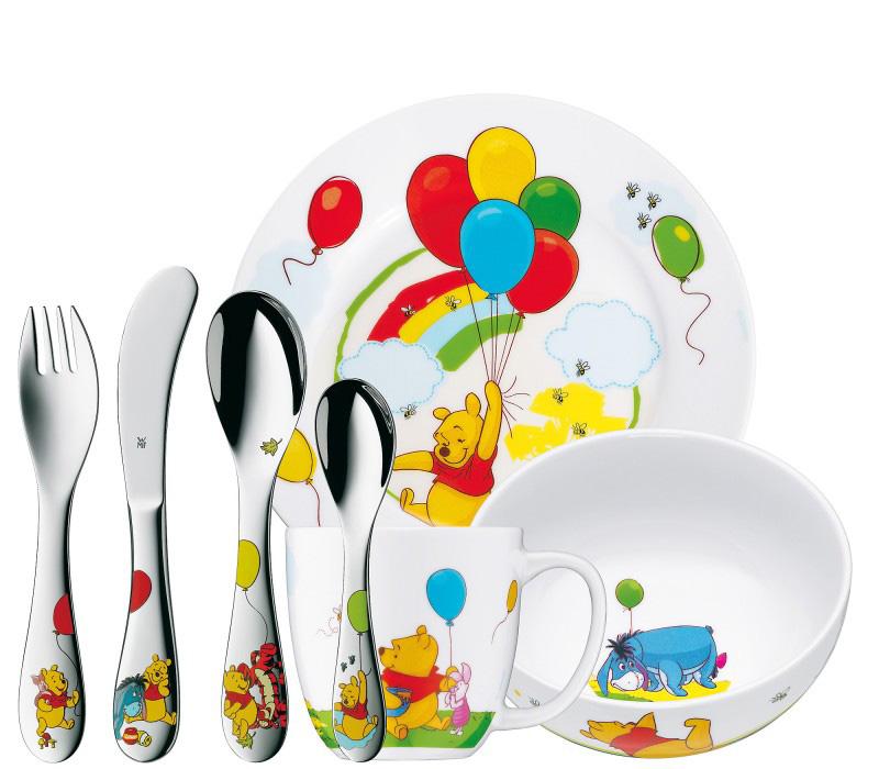Онлайн каталог PROMENU: Набор столовый детский WMF Winnie The Pooh, 7 предметов  12 8350 9974