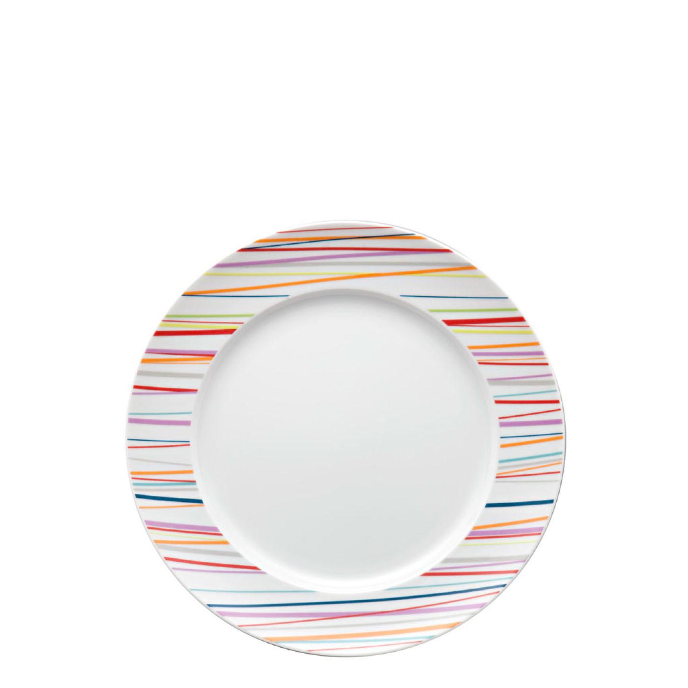 Набор столовый на 2 персоны Rosenthal SUNNY DAY, белый с цветными полосками, 10 предметов Rosenthal 10850-408715-28010 фото 2
