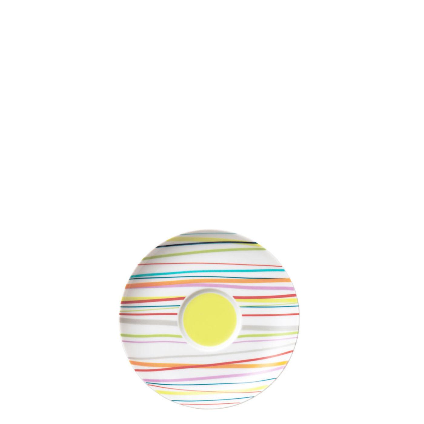 Набор столовый на 2 персоны Rosenthal SUNNY DAY, белый с цветными полосками, 10 предметов Rosenthal 10850-408715-28010 фото 4