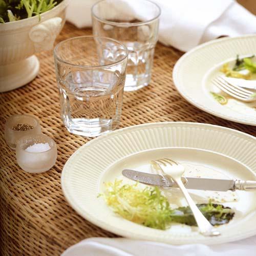 Набор столовой посуды Wedgwood EDME PLAIN, белый, 12 предметов  40009369 фото 2