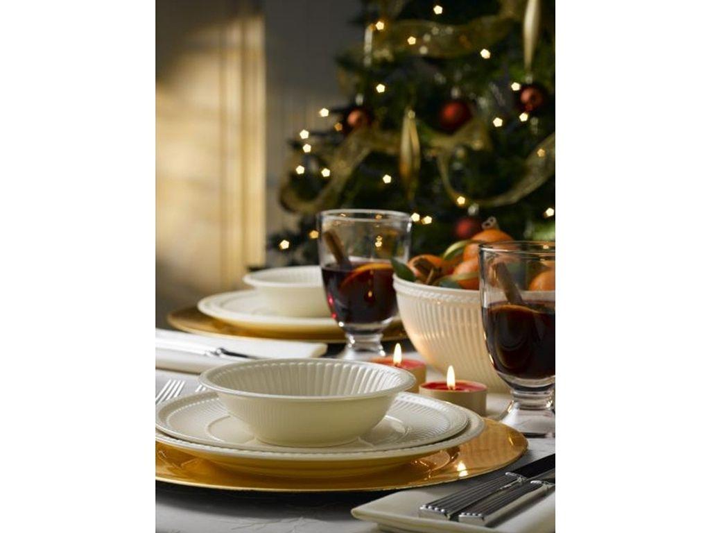 Набор столовой посуды Wedgwood EDME PLAIN, белый, 12 предметов  40009369 фото 4