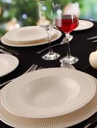 Набор столовой посуды Wedgwood EDME PLAIN, белый, 12 предметов  40009369 фото 3