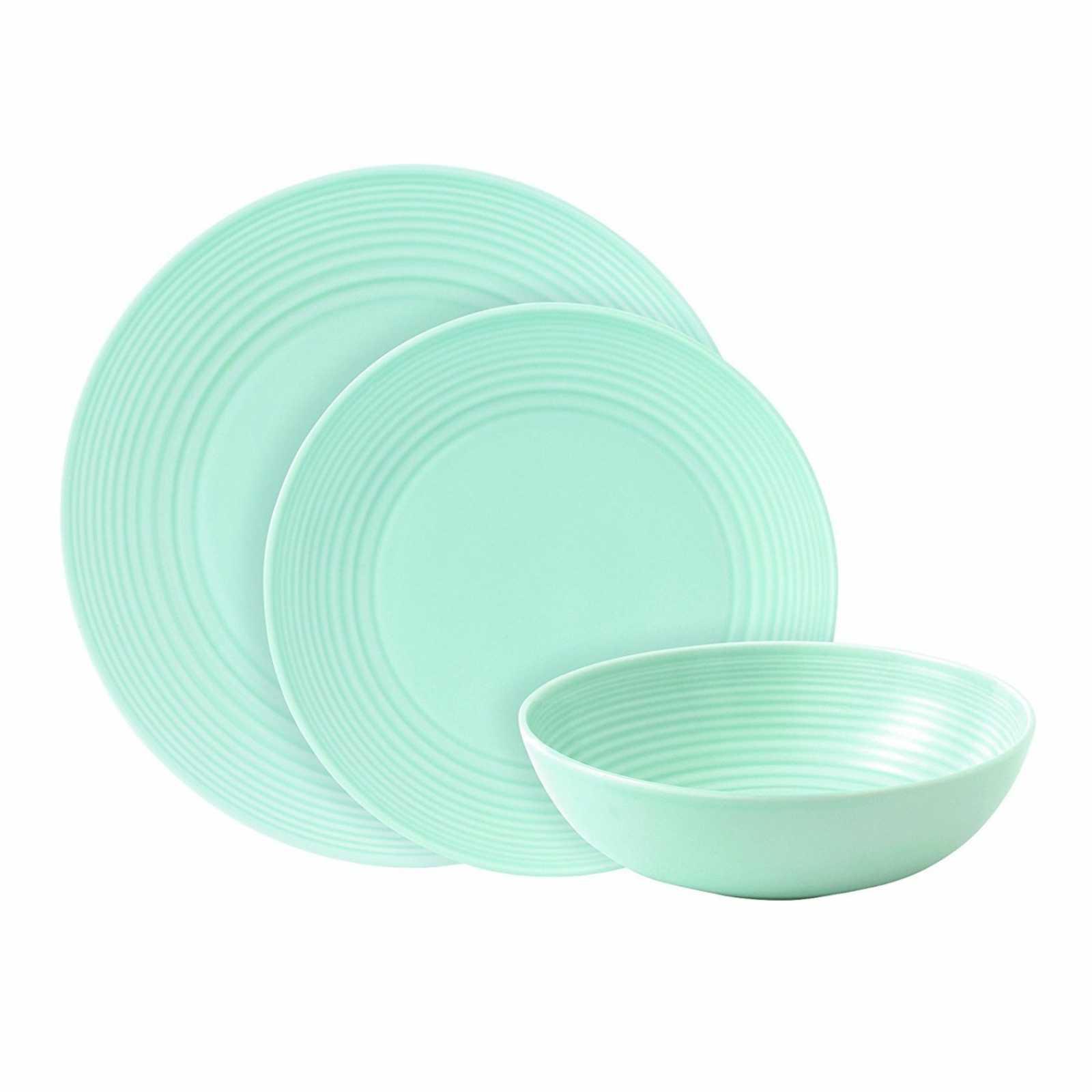 Онлайн каталог PROMENU: Набор столовой посуды Royal Doulton GORDON RAMSAY MAZE BLUE, голубой, 12 предметов                               GRMZBL22417