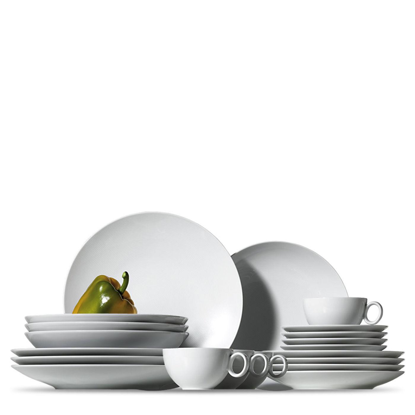 Онлайн каталог PROMENU: Набор столовой посуды Rosenthal LOFT, белый, 16 предметов Rosenthal 11900-800001-18844