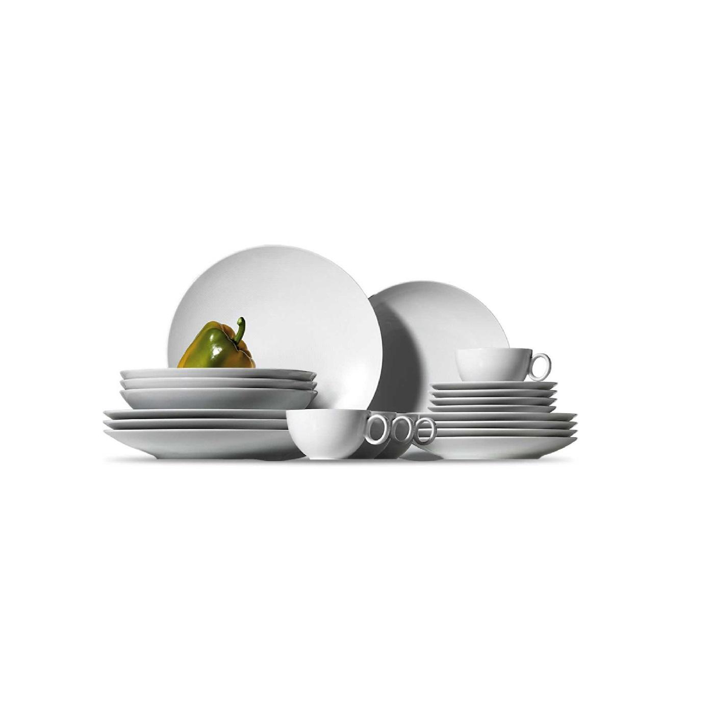 Набор столовой посуды Rosenthal LOFT, белый, 20 предметов Rosenthal 11900-800001-18844 фото 1