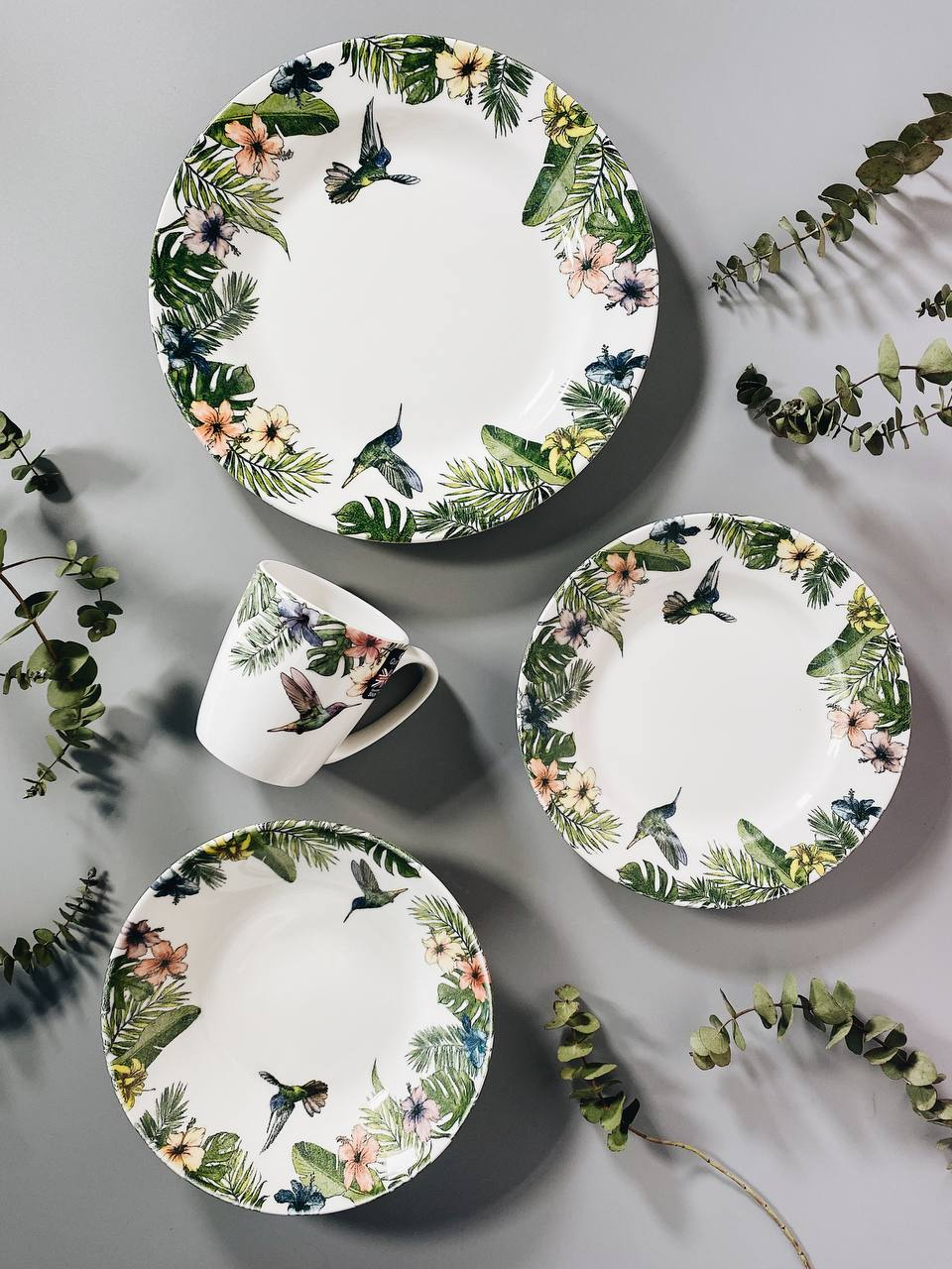 Набор столовой посуды  Churchill REIGNFOREST, 12 предметов, разноцветный Churchill REFO00171 фото 3