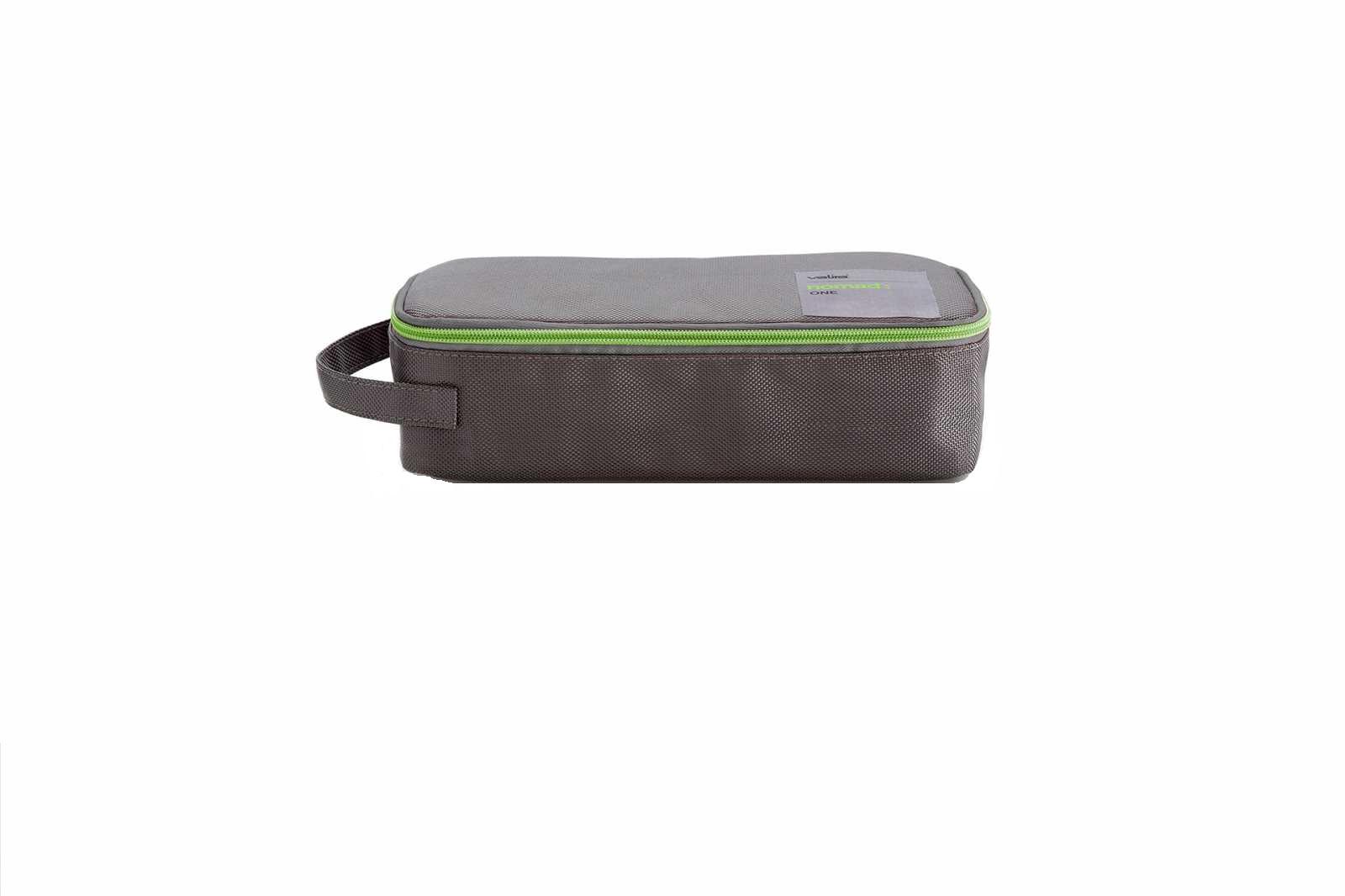 Онлайн каталог PROMENU: Набор сумка с емкостью для продуктов Valira NOMAD, серый, 2 предмета Valira 6029/147