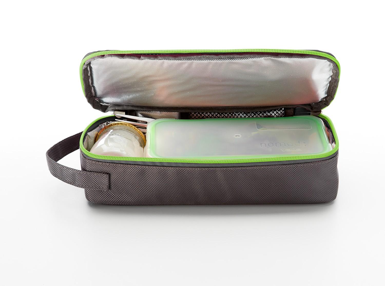 Набор сумка с емкостью для продуктов Valira NOMAD, серый, 2 предмета Valira 6029/147 фото 3