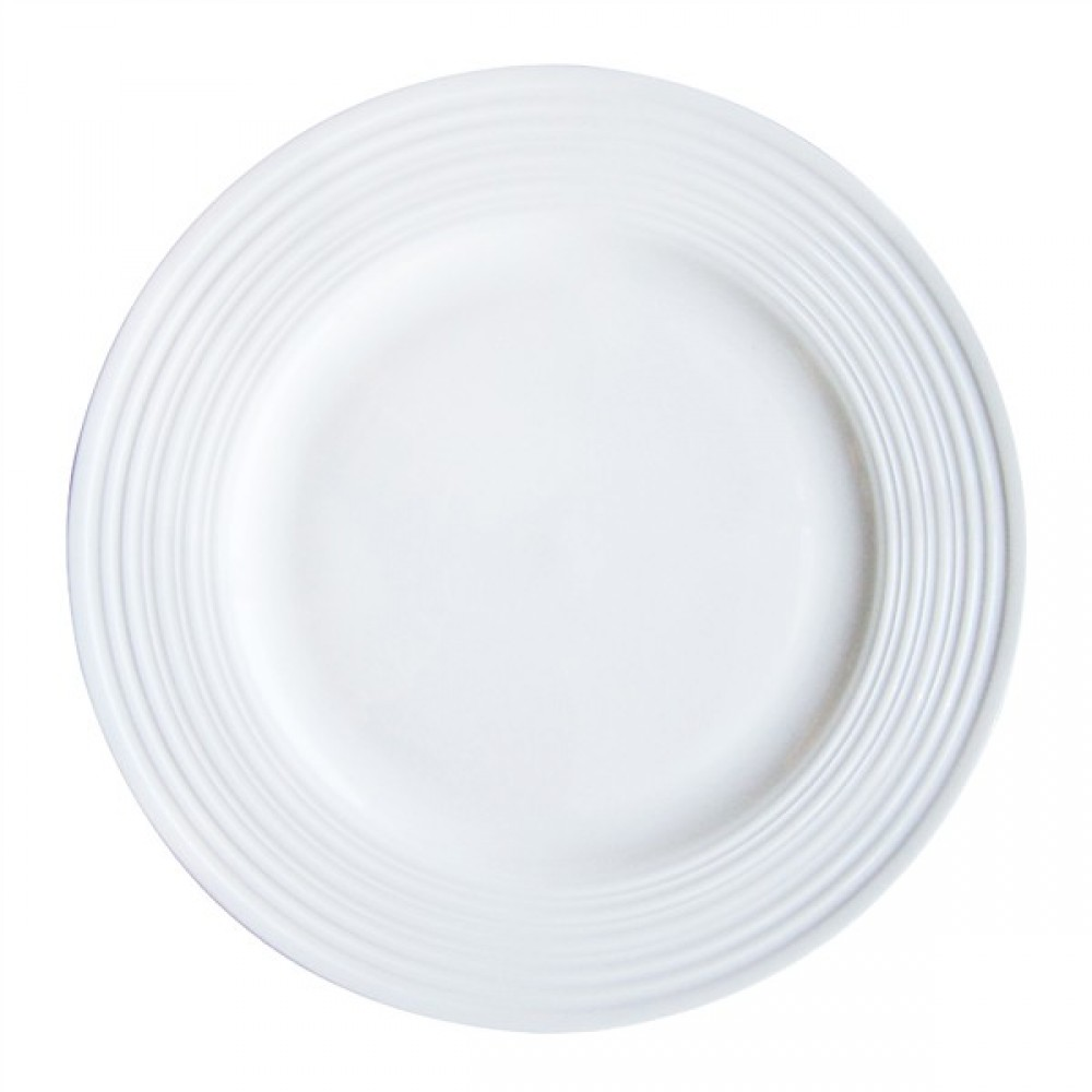 Онлайн каталог PROMENU: Набор: тарелка основная Aida Passion, 23 см, 4 шт, белая Aida 19286