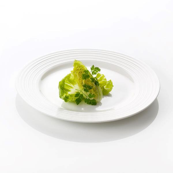 Онлайн каталог PROMENU: Набор: тарелка сервировочная/подстановочная Aida Passion, 28 см, 4 шт, белая Aida 19283