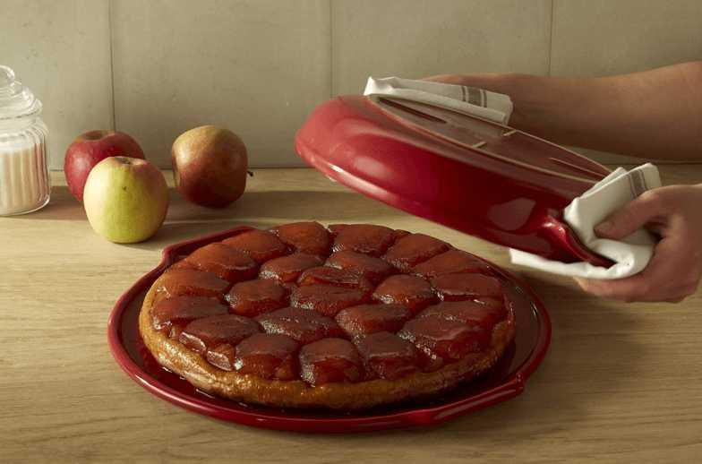 "Набор ""тарт-татэн"" с крышкой Emile Henry, 28 см, красный, 2 штуки Emile Henry 343699 фото 1"