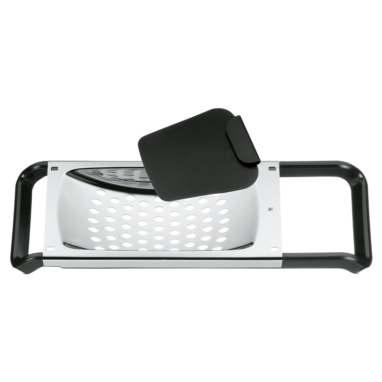 Онлайн каталог PROMENU: Набор: терка с лопаткой WMF TOP TOOLS, серебристый с черным, 2 предмета WMF 06 8613 6040