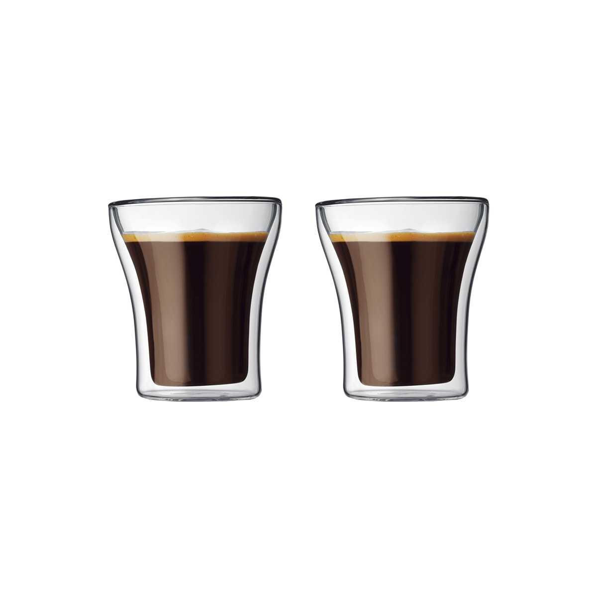 Онлайн каталог PROMENU: Набор термо-стаканов 0,22 л, 2 шт Bodum Assam  (4555-10) Bodum 4555-10