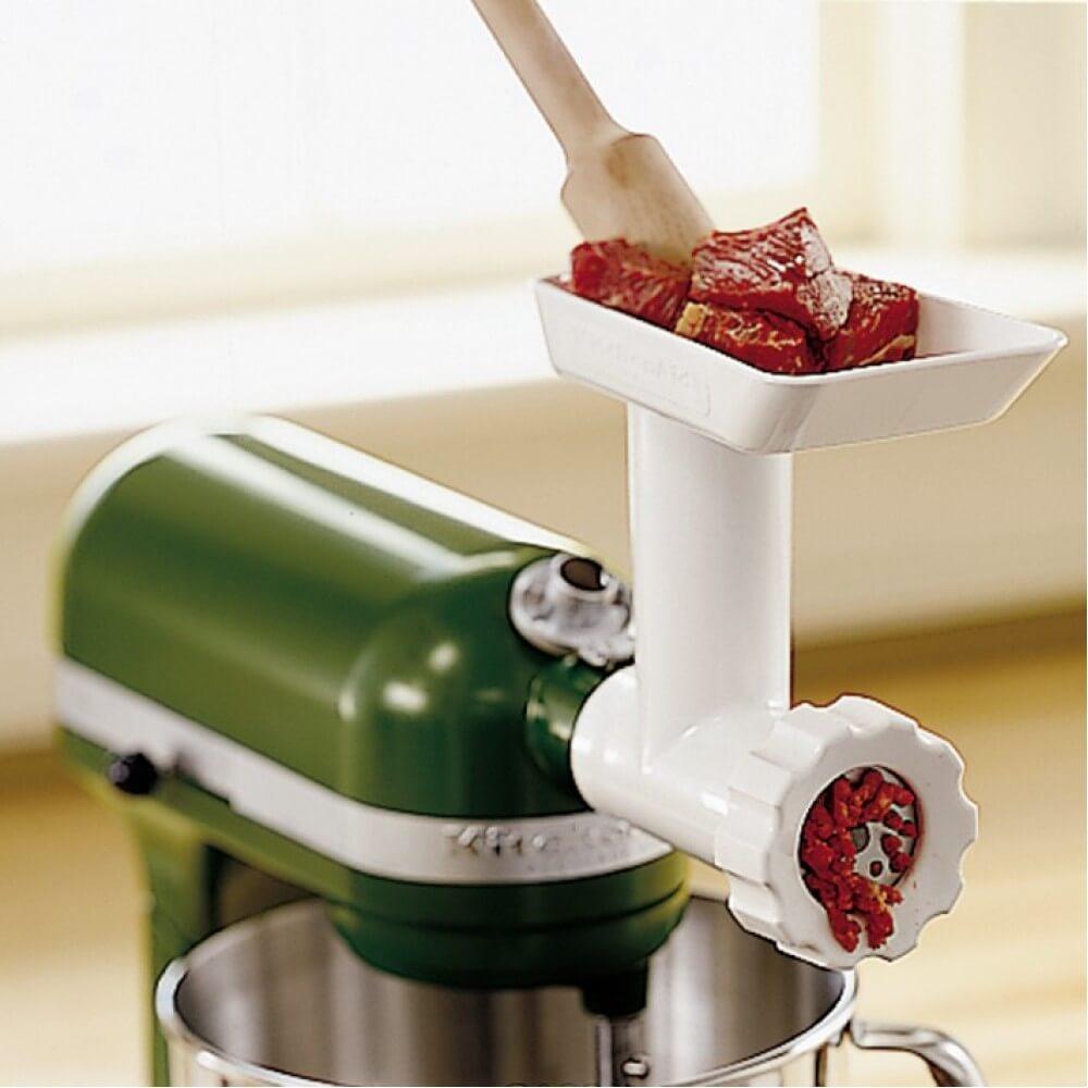 Насадка мясорубка для планетарных миксеров KitchenAid KitchenAid 5FGA фото 1