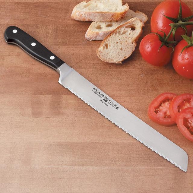 Нож для нарезки хлеба Wuesthof Classic, длина 23 см Wuesthof 4150 фото 1