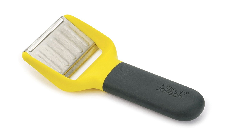 Онлайн каталог PROMENU: Нож для сыра с двумя лезвиями Joseph Joseph,9,4х26,5х9,1 см, желтый                                   20106