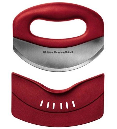 Онлайн каталог PROMENU: Нож для зелени (мезалуна) KitchenAid, красный KitchenAid KAT173ER
