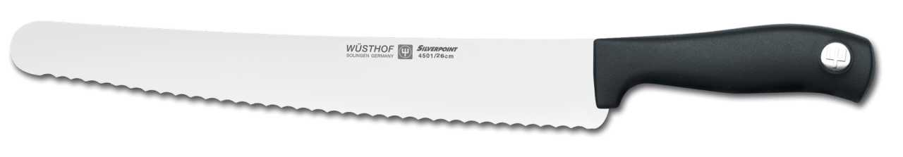 Онлайн каталог PROMENU: Нож кондитерский Wuesthof Silverpoint, длина 26 см Wuesthof 4501/26