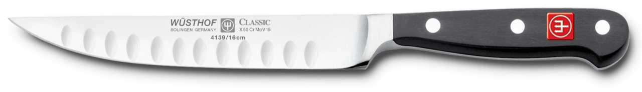 Онлайн каталог PROMENU: Нож кухонный Wuesthof Gourmet, длина 16 см Wuesthof 4139/16