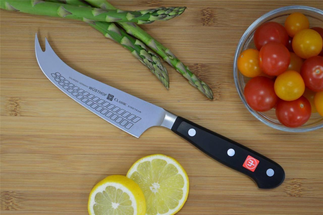 Нож кухонный для сыра Wuesthof Classic, длина 14 см Wuesthof 3103 фото 1