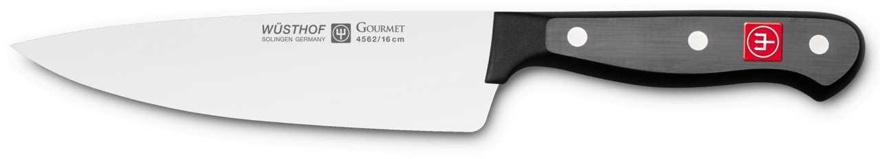 Онлайн каталог PROMENU: Нож шеф-повара Wuesthof Gourmet, длина 16 см Wuesthof 4562/16