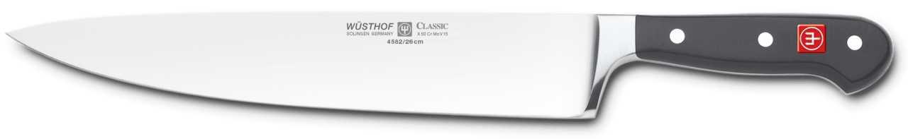 Онлайн каталог PROMENU: Нож шеф-повара Wuesthof Classic, длина 26 см Wuesthof 4582/26