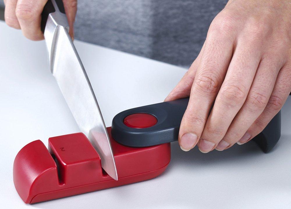 Точилка для ножей складная Joseph Joseph ROTA, 12,8x4x4 см, красный Joseph Joseph 10048 фото 2