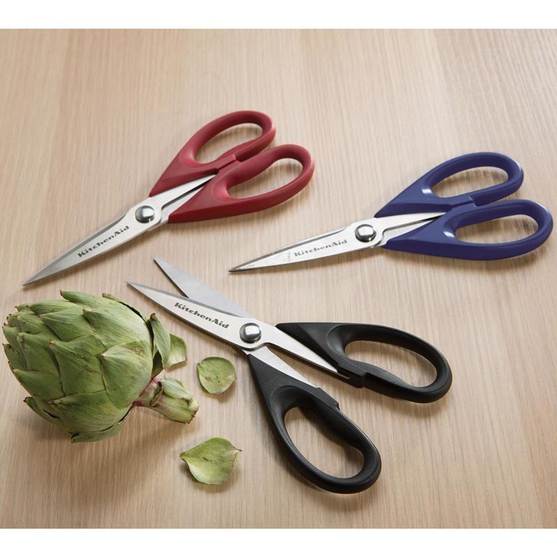 Ножницы кухонные, многофункциональные KitchenAid, длина 22,5 см, красный KitchenAid KC351OHERA фото 1