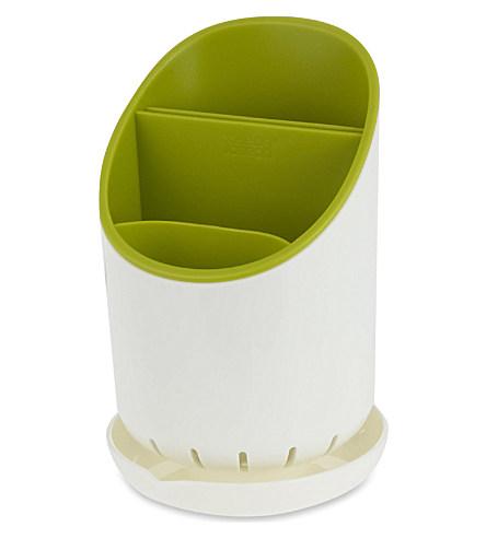 Органайзер для кухонных приборов со сливом Joseph Joseph dock, 12х19х12,7 см, зеленый Joseph Joseph 85074 фото 0