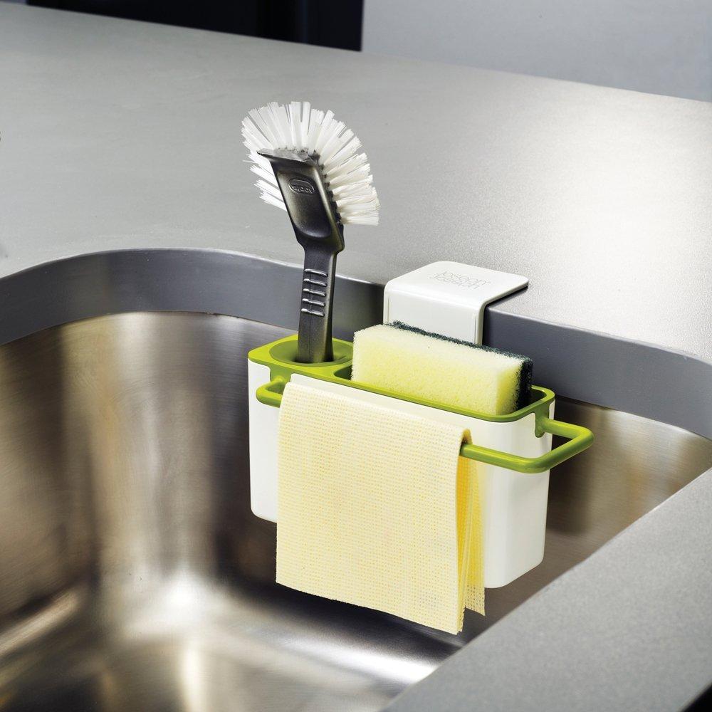 Органайзер для раковины sink aid навесной Joseph Joseph, 19,5x13,5x11 см, зеленый Joseph Joseph 85023 фото 1