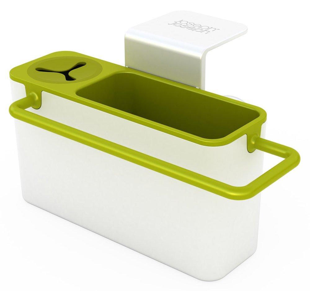 Онлайн каталог PROMENU: Органайзер для раковины sink aid навесной Joseph Joseph, 19,5x13,5x11 см, зеленый Joseph Joseph 85023