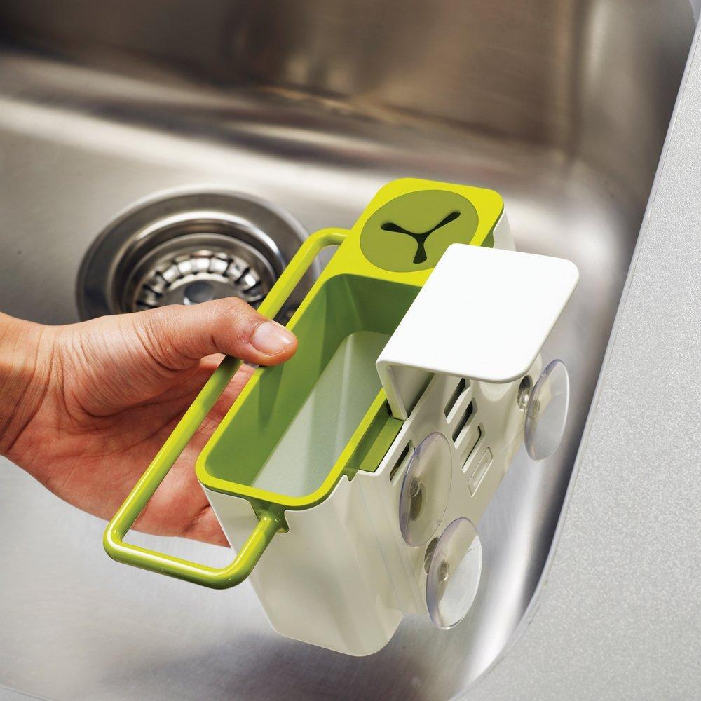 Органайзер для раковины sink aid навесной Joseph Joseph, 19,5x13,5x11 см, зеленый Joseph Joseph 85023 фото 2