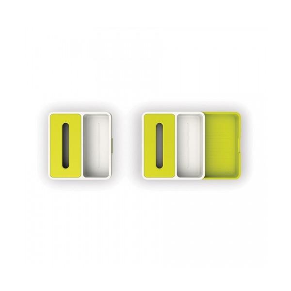 Органайзер раздвижной для кухонных принадлежностей 36,5х34х6 см зеленый Joseph Joseph 85043 фото 1