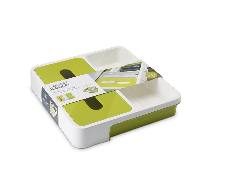 Органайзер раздвижной для кухонных принадлежностей 36,5х34х6 см зеленый Joseph Joseph 85043 фото 4