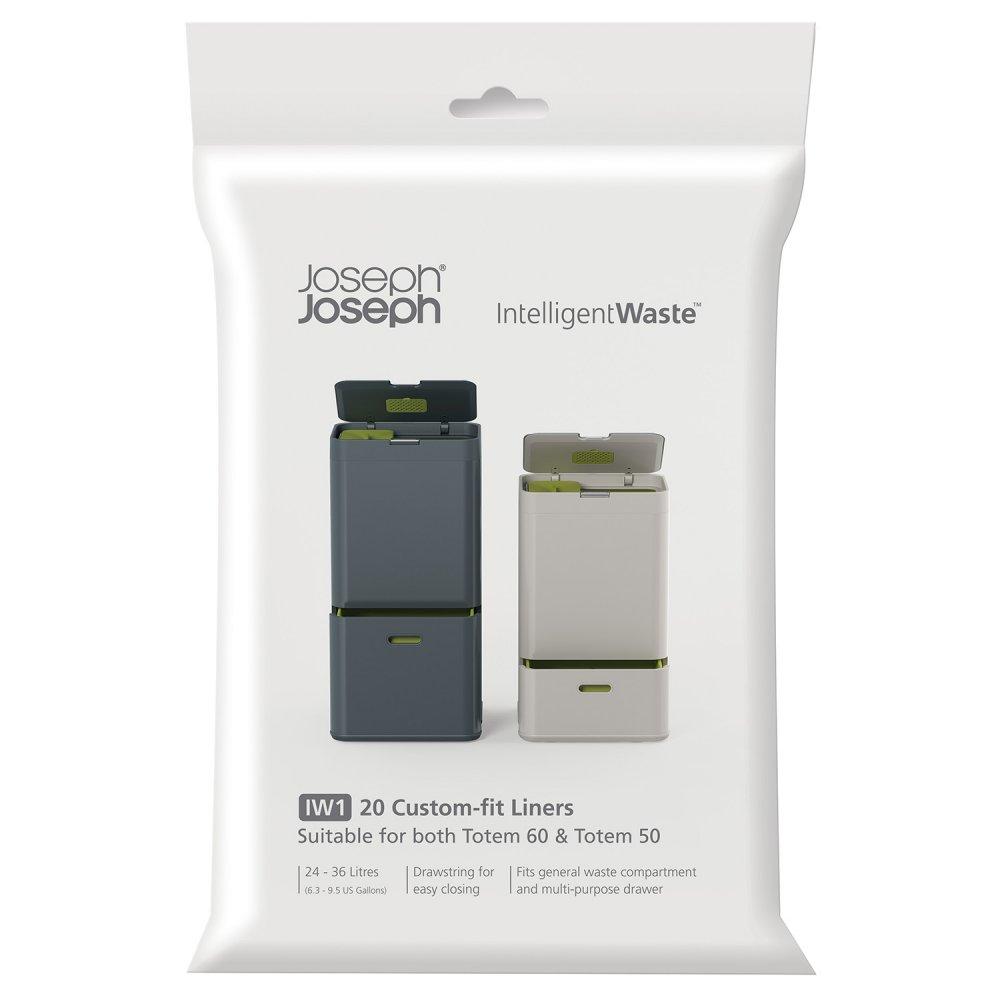 Онлайн каталог PROMENU: Пакеты для мусора Joseph Joseph general waste, объем 24-36 л, 20 штук Joseph Joseph 30006