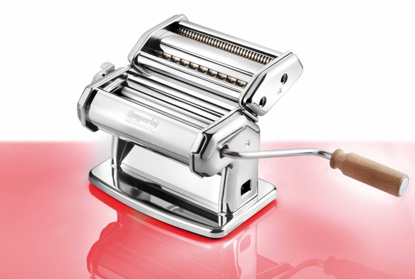 Паста-машина ручная iPasta 6 положений Imperia, серебристый Imperia 100 фото 1